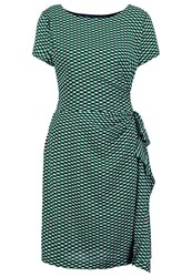 Louche Kayven Summer Dress Green Black