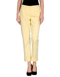 Ermanno Scervino Scervino Street Casual Pants Light Yellow