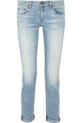 Rag And Bone Dre Mid Rise Boyfriend Jeans Light Denim