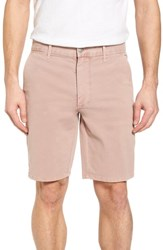 Joe's Jeans Brixton Trim Fit Straight Leg Shorts Adobe Rose