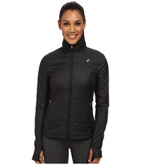 Asics Thermopolis Windblocker Jacket Performance Black Women's Workout