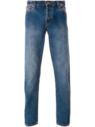 Han Kj0benhavn Regular Straight Leg Jeans Blue