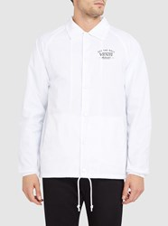 Vans White Torrey Coach Jacket