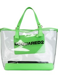 Dsquared2 'Mykonos' Shopping Tote Green