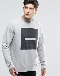 Dr. Denim Dr Smith Sweatshirt Grey Square