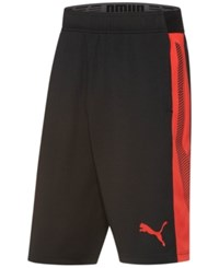 Puma Men's Drycell Formstripe Shorts Black Red