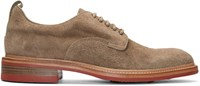 Rag And Bone Beige Suede Spencer Derbys