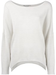 Stella Mccartney Slouchy Sweater Women Polyamide Viscose 42 Nude Neutrals