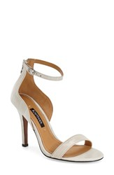 Women's Kay Unger 'Mandie' Ankle Strap Sandal Oyster
