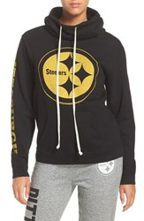 Junk Food Women's 'Pittsburgh Steelers' Cotton Blend Hoodie