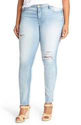 Kut From The Kloth Plus Size Women's 'Adele' Ripped Stretch Slouchy Boyfriend Jeans