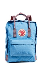 Fjall Raven Fjallraven Kanken Backpack Air Blue Striped