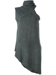 Lost And Found Rooms High Neck Top Grey