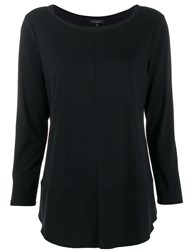 Antonelli Relaxed Knit Top Black