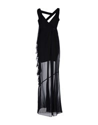 Mangano Long Dresses Black
