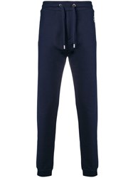 Kenzo Embroidered Logo Track Pants Blue