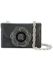 Oscar De La Renta Tro Crossbody Bag Black