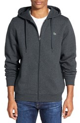 Lacoste Men's 'Sport' Zip Hoodie Pitch Navy Blue