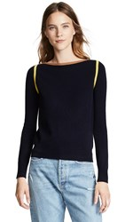 Demy Lee Demylee Angie Sweater Navy Combo