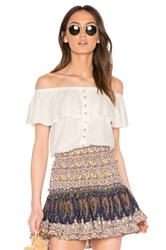 Free People Love Letter Tube Top White