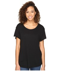 Hurley Staple Easy Crew Tee Black Women's Clothing