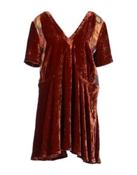 Heimstone Short Dresses Rust