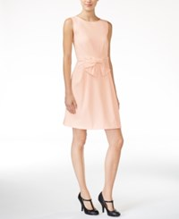 Maison Jules Bow Detail Fit And Flare Dress Only At Macy's Pearl Blush