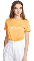 Edition10 Treat Yourself T Shirt Radiant Yellow