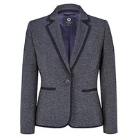 Viyella Petite Textured Jacket Navy