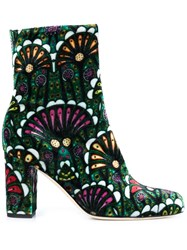 Brian Atwood 'Talise' Ankle Boots Green