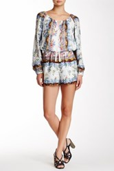 Single Dress Nina Silk Romper Multi