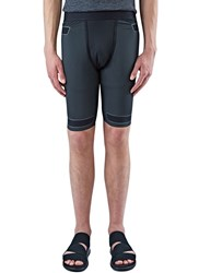 Y 3 Sport Techfit Taped Shorts Black