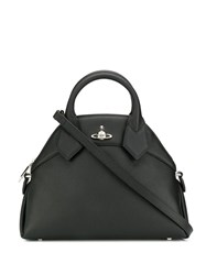 Vivienne Westwood Logo Top Handle Tote Black