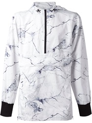 Zanerobe 'Denver' Marble Hooded Jacket White