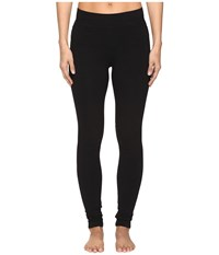 Hard Tail High Rise Ankle Leggings Black Women's Casual Pants
