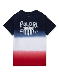 Ralph Lauren Ombre Short Sleeve Logo T Shirt Multi