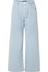 Mih Jeans M.I.H Paradise High Rise Wide Leg Light Denim