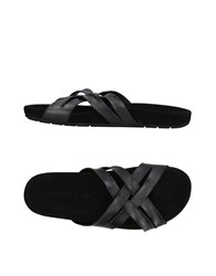 John Varvatos Sandals Black
