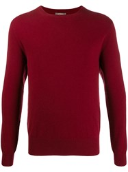 N.Peal The Oxford Sweater Red