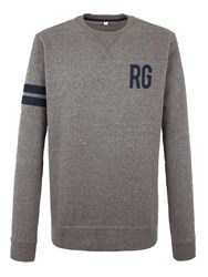 Racing Green Duke Rg Logo Sweatshirt Charcoal