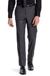 Ted Baker Jarret Grey Woven Suit Separates Wool Trouser Gray