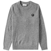 Wood Wood Yale Crew Knit Grey