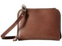 Scully Addison Stadium Crossbody Brown Cross Body Handbags