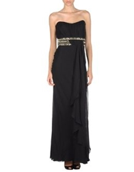 Gai Mattiolo Long Dresses Black