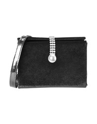 8 Bags Cross Body Bags Black