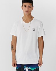 Cheap Monday Standard Tiny Skull T Shirt White