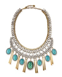 Dannijo Costella Turquoise Statement Necklace