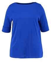 Lauren Ralph Lauren Woman Benny Basic Tshirt Basic Royl Royal Blue