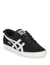 Asics Mexico Unisex Lace Up Sneakers Black White