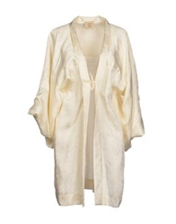 Coast Weber And Ahaus Full Length Jackets Ivory